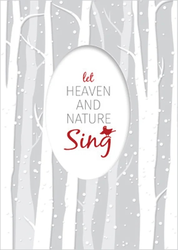 Let Heaven and Nature Sing Christmas Cards Answers in Genesis