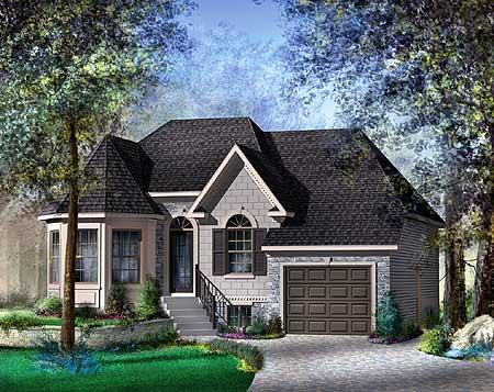 European Style House Plan - 80334PM | Architectural ...