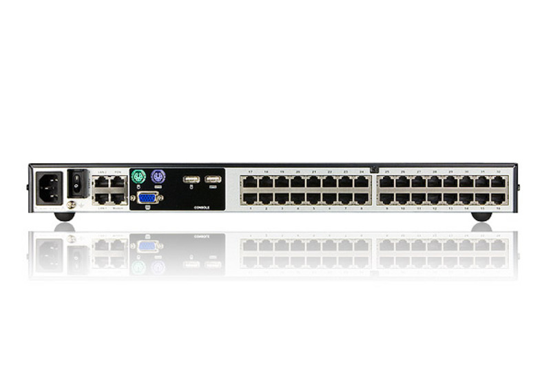 1-Local/4-Remote Access 32-Port Cat 5 KVM over IP Switch (1600 x