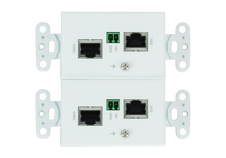 HDMI/Audio Cat 5 Extender Wall Plate (1080p@40m) - VE806, ATEN Video