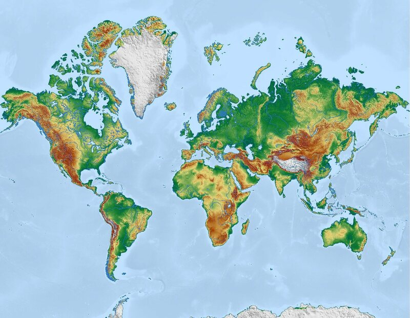 Why Is New Zealand So Often Left Off World Maps? - Atlas Obscura