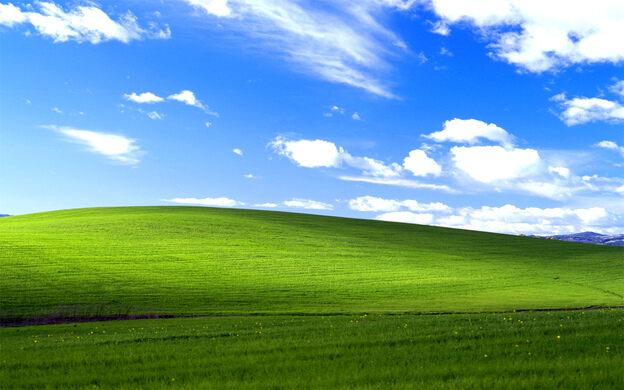 Location of the Microsoft Windows XP Default Wallpaper \u2013 Sonoma