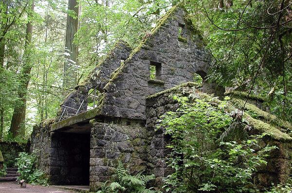 Gravity Falls Landscapes Wallpaper The Witch S Castle Portland Oregon Atlas Obscura
