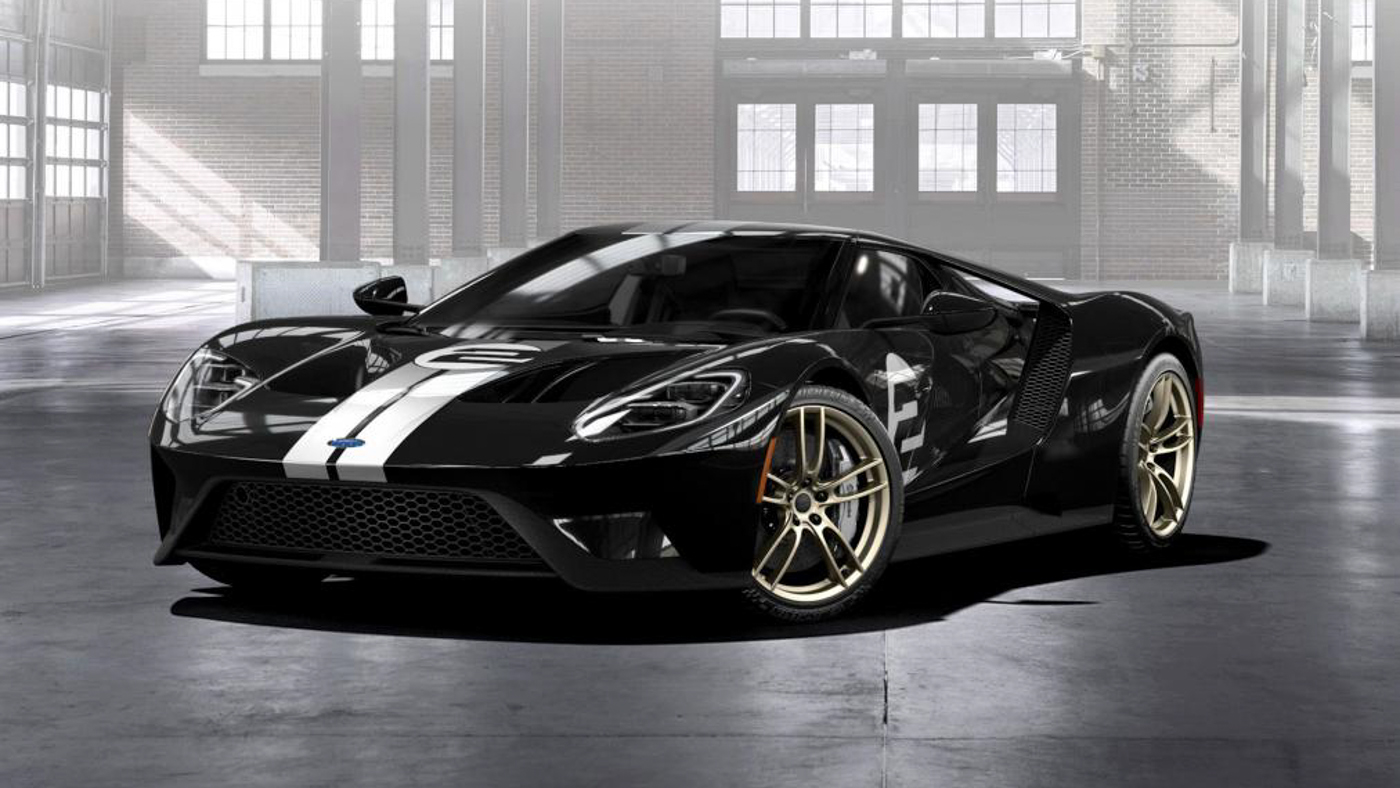 Cena Hd Wallpaper Ford Gt 66 Heritage Edition Is A Limited Edition Stealth