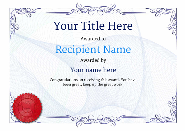 Free Horse Riding Certificate templates - Add Printable Badges  Medals - certificate of birth template