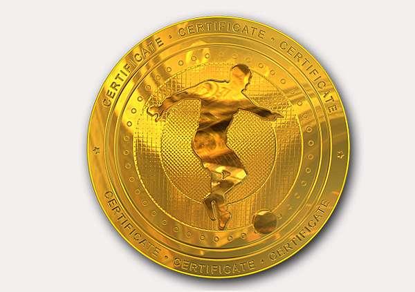 Free Soccer Certificate templates - Add Printable Badges  Medals - best of printable soccer certificate