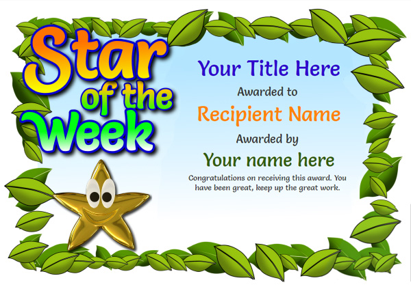 Free Certificate Templates Simple to Use Add Printable Badges  Medals - Blank Award Templates