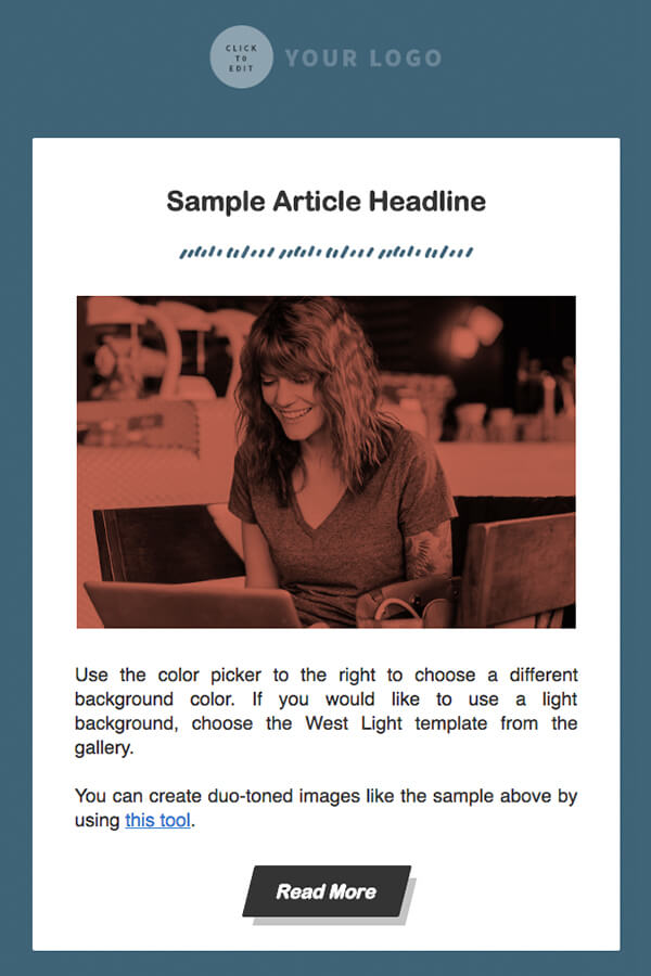 HTML Email Templates AWeber Email Marketing