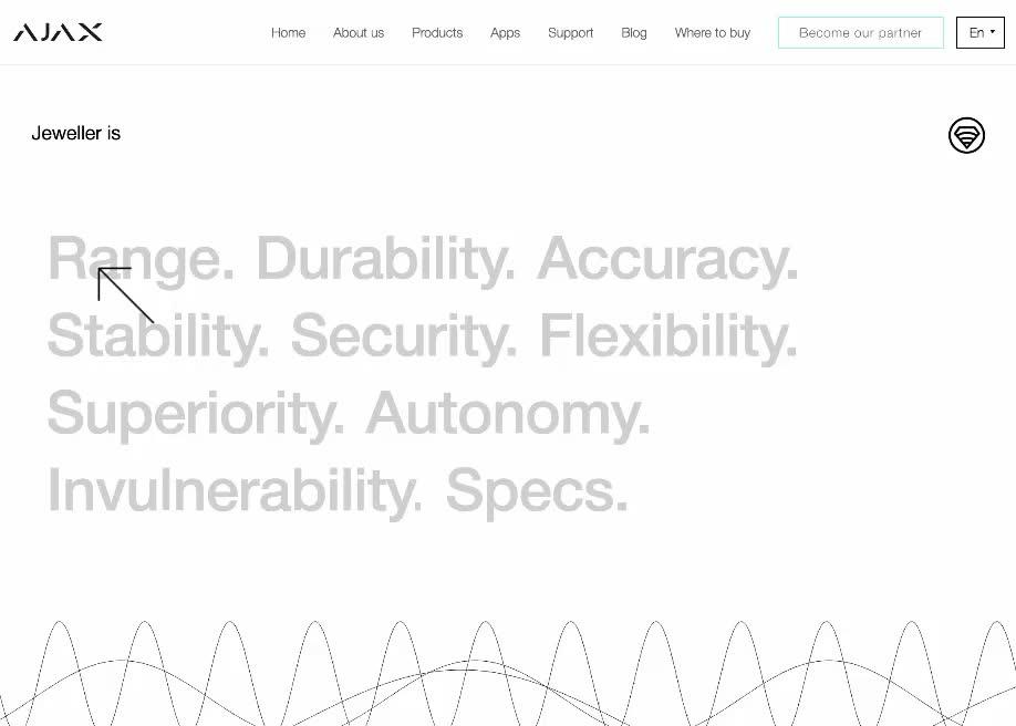 Jeweller Wireless Technology - Awwwards SOTD - ux designer job description