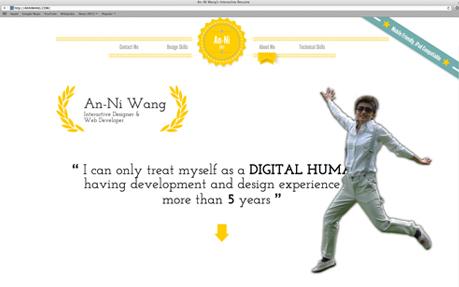 An-Ni Wang\u0027s interactive resume - Awwwards Nominee