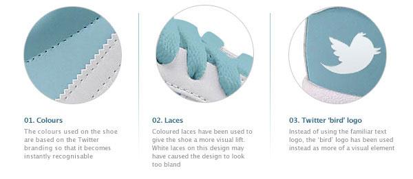 Facebook Twitter Shoes Tenis