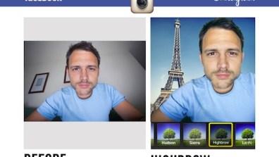 Instagram New Filters Facebook