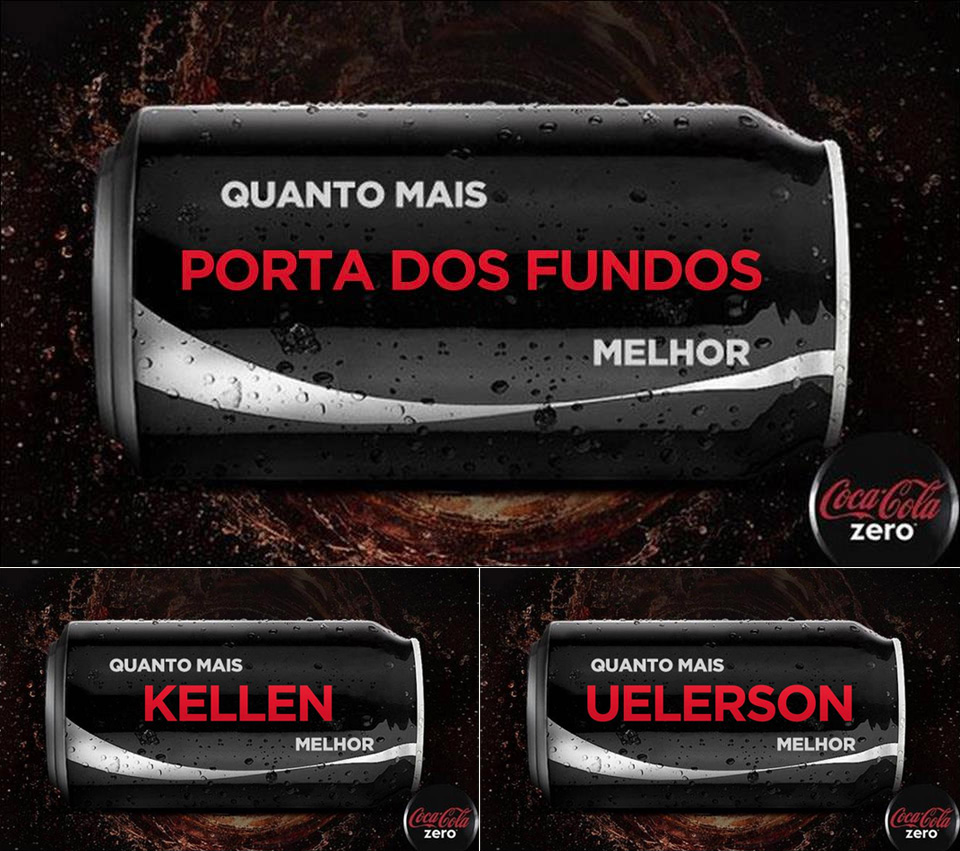 Coca Zero Porta dos Fundos