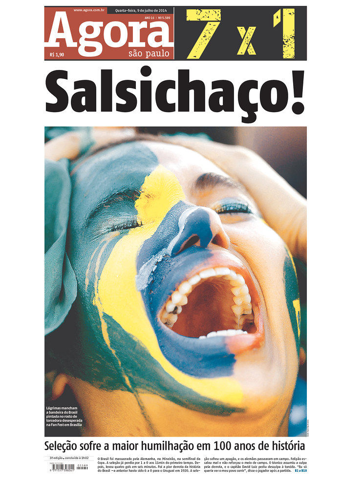 06 - Salsichao see below - Brazilian team suffers the biggest humiliation in its 100-year history