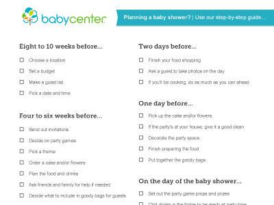 Throwing a baby shower - BabyCenter Australia