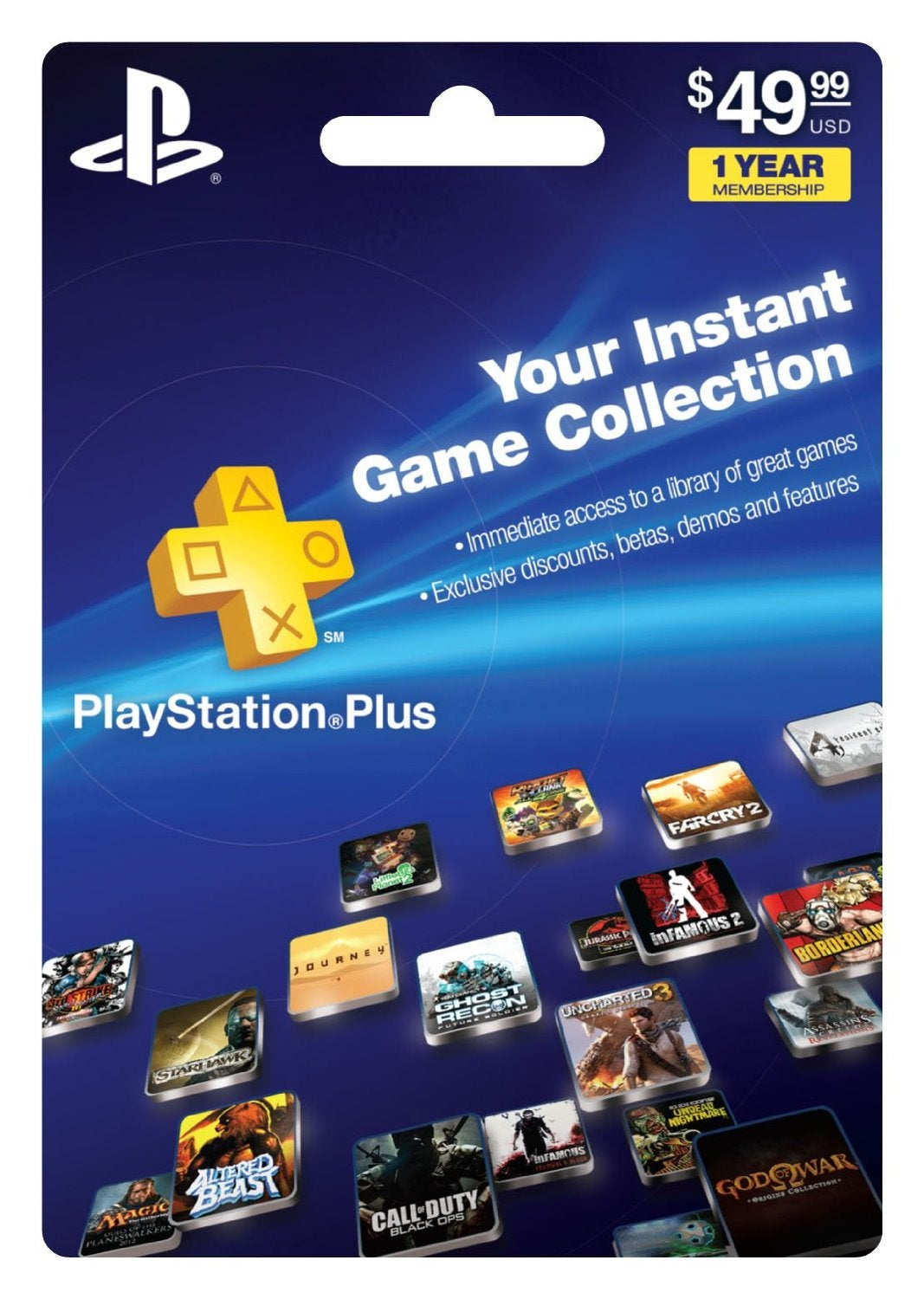 Playstation Plus 12 Meses Playstation