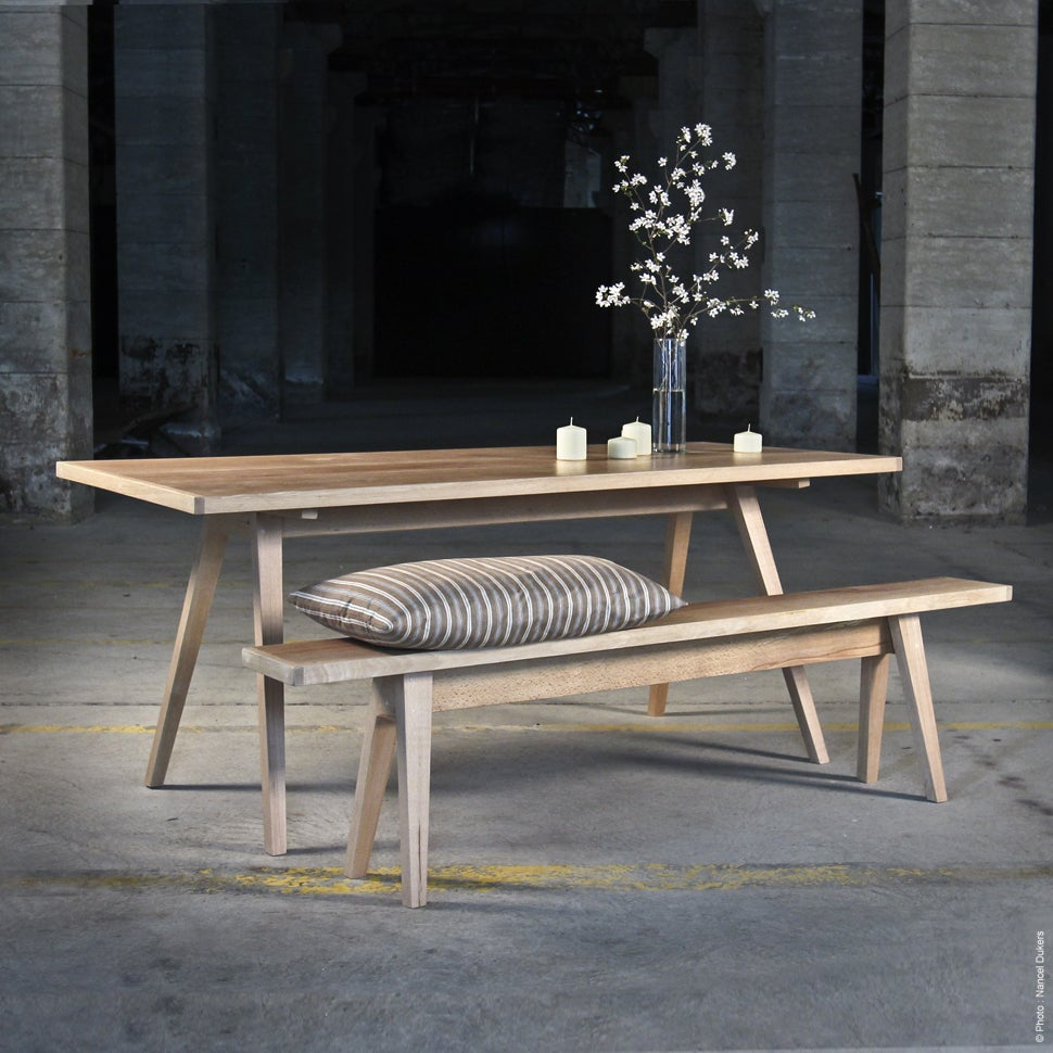 Table En Bois Design Table Barak