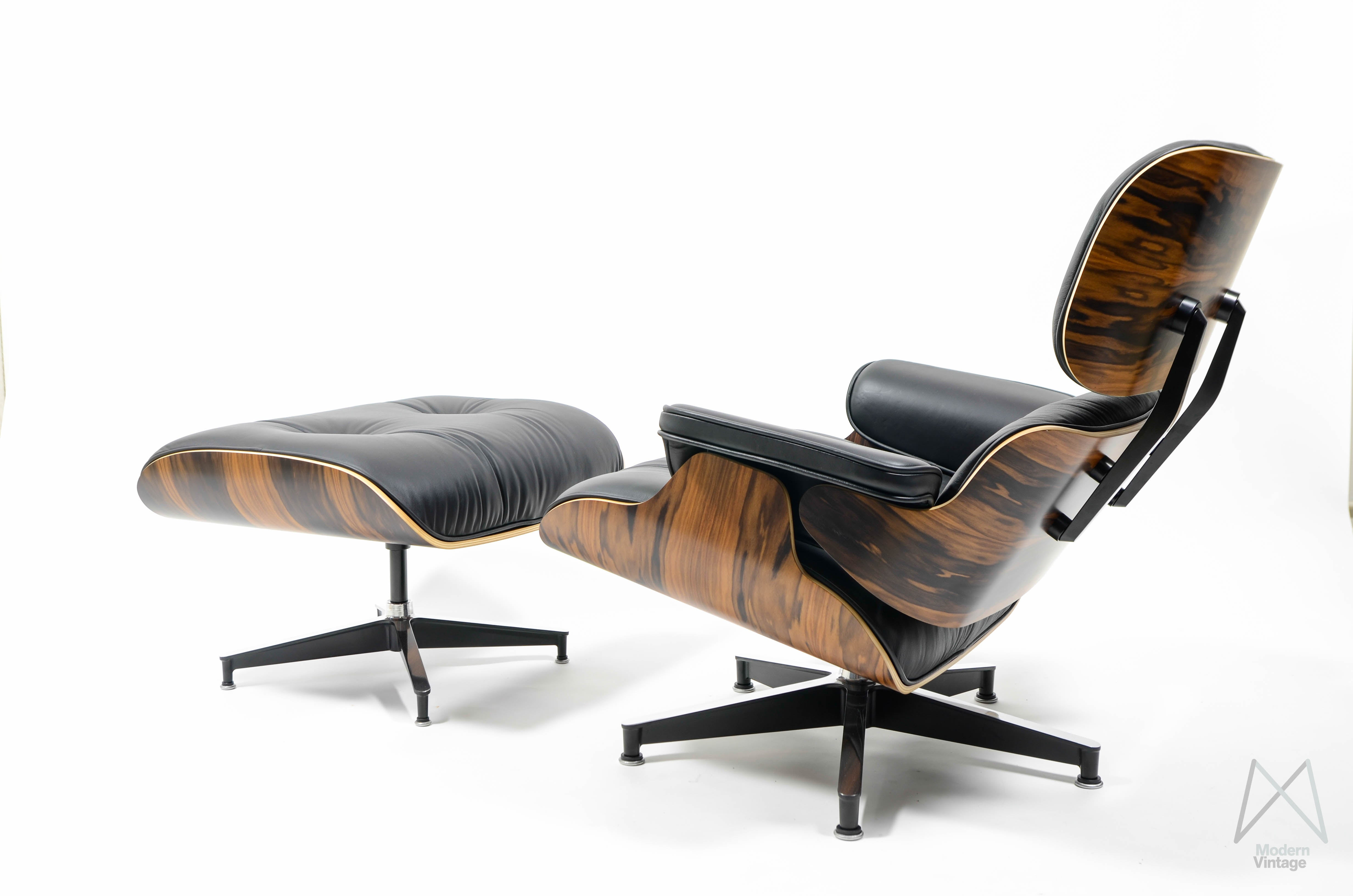 Vitra Lounge Chair Tweedehands Eames Lounge Chair Ottoman Santos Palissander Herman Miller Europe New