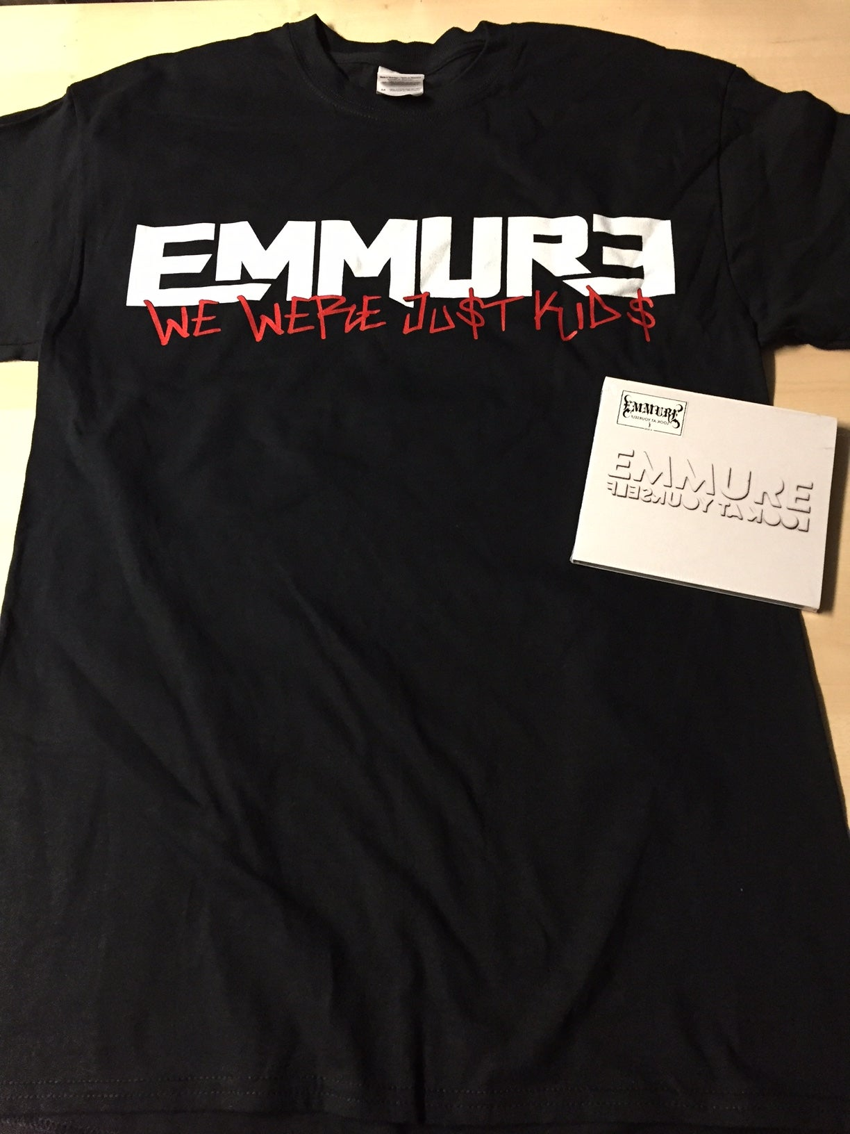 Size M Emmure Look At Yourself Cd Shirt Combo Deal 6 Size S M L Xl