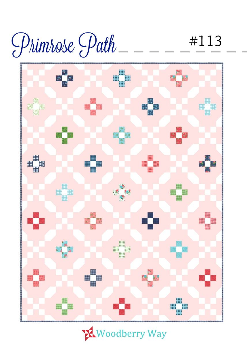 Quilt Binding Woodberry Way — Primrose Path Pdf Pattern