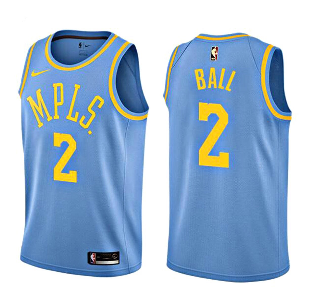 Retro Jerseys Retro Lonzo Ball Lakers 2 Jersey