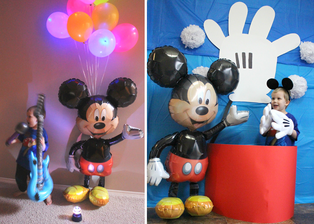 Mickey Mouse Party Mickey\u0027s Clubhouse Party at Birthday in a Box - mickey mouse boy birthday party ideas