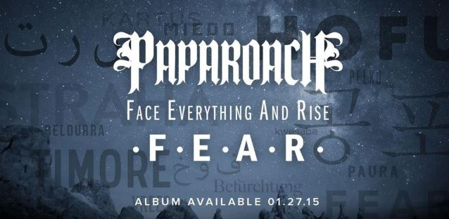 Wallpaper Falling Off Papa Roach S F E A R To Feature Guest Appearances By In