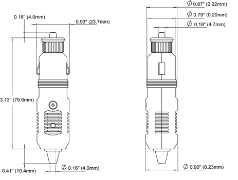 12 Volt Plug - Blue Sea Systems