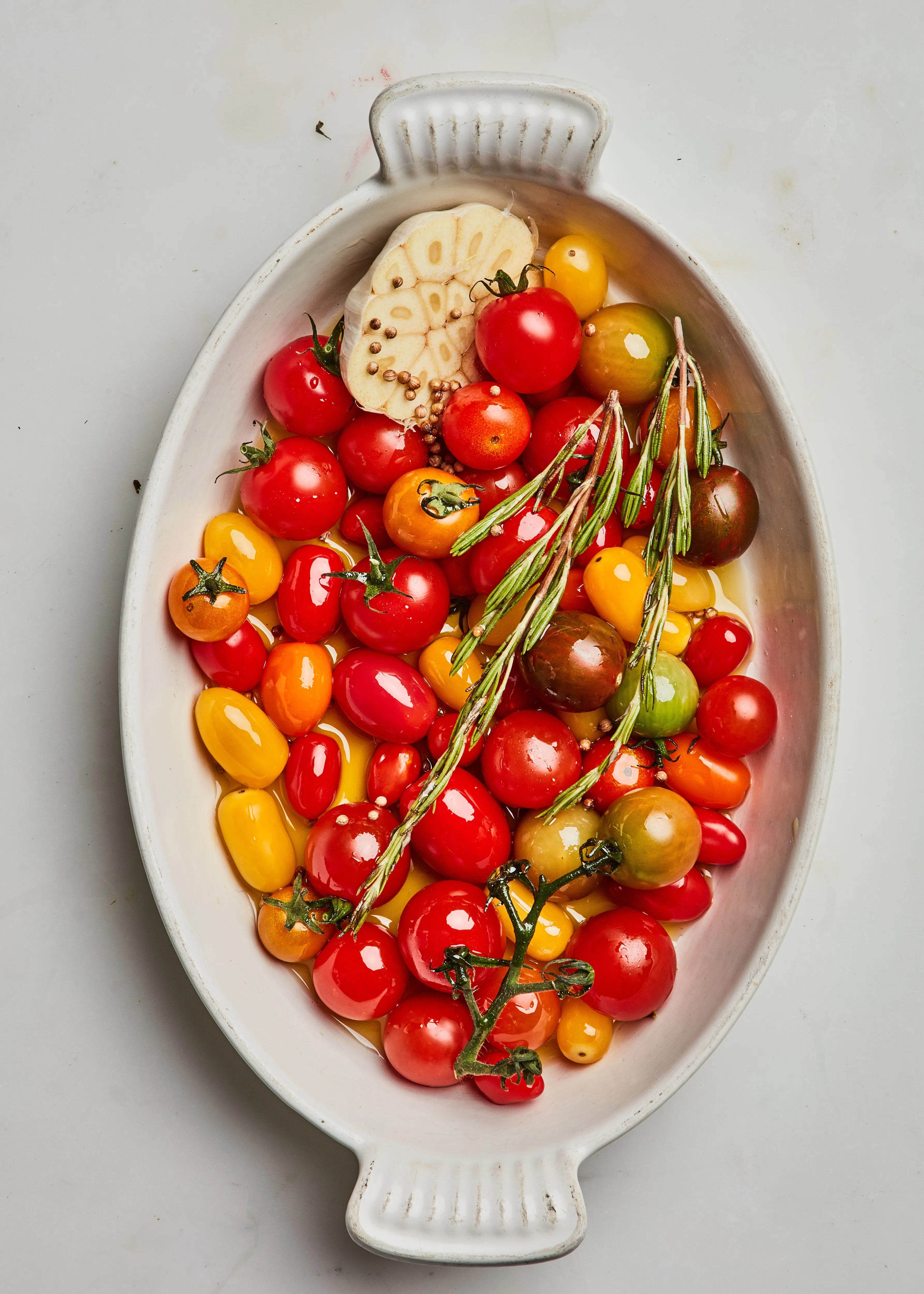 Slow Cooked Cherry Tomatoes Recipe Bon Appétit