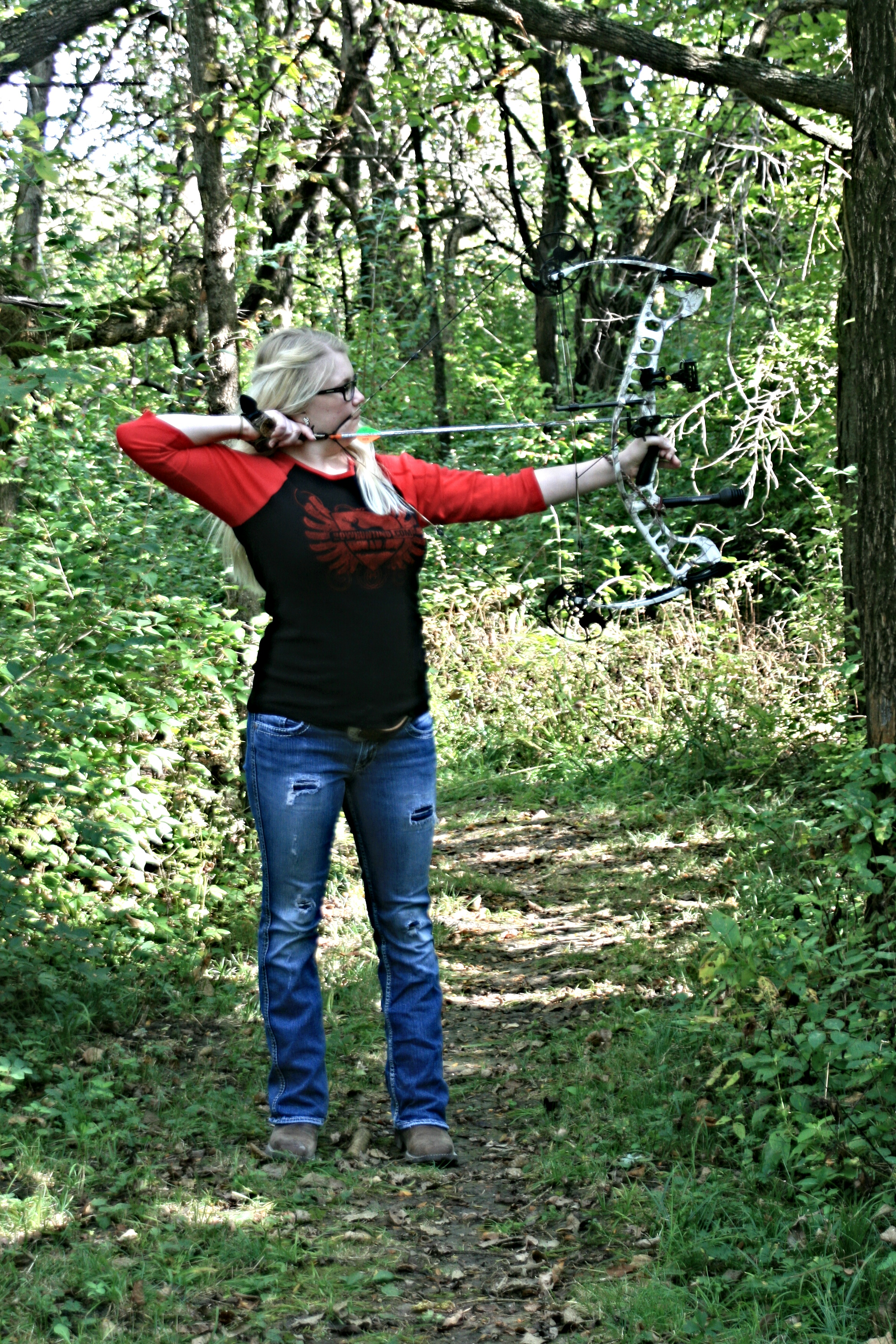 Country Girl Wallpapers With Camo Bowhunting Girls Bowhunting Com