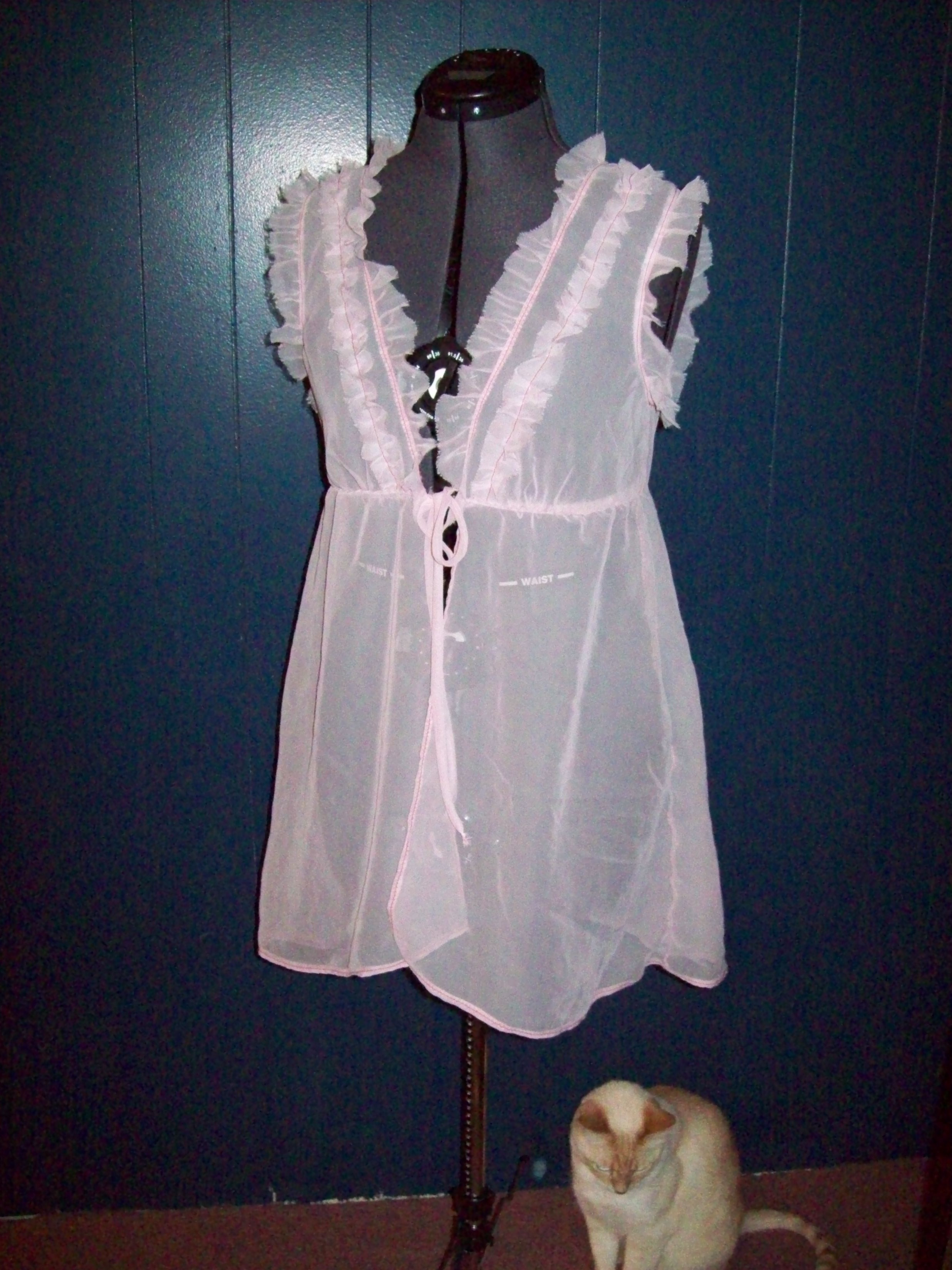 Burda Schnittmuster Neglige Pink Chiffon Negligee Sewing Projects Burdastyle
