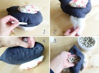Adorable DIY Door Stops  Sewing Projects   BurdaStyle.com