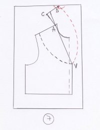 The pattern of the shawl collar  Learning Sewing ...