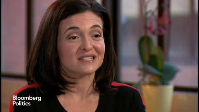 Sheryl Sandberg Wants to See Hillary Clinton in the White House