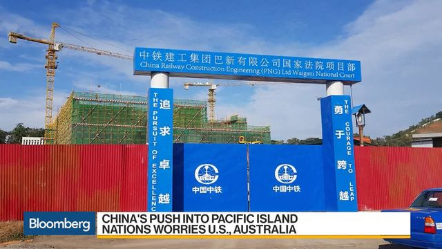 China\u0027s Pacific Islands Push Has the US Worried - Bloomberg