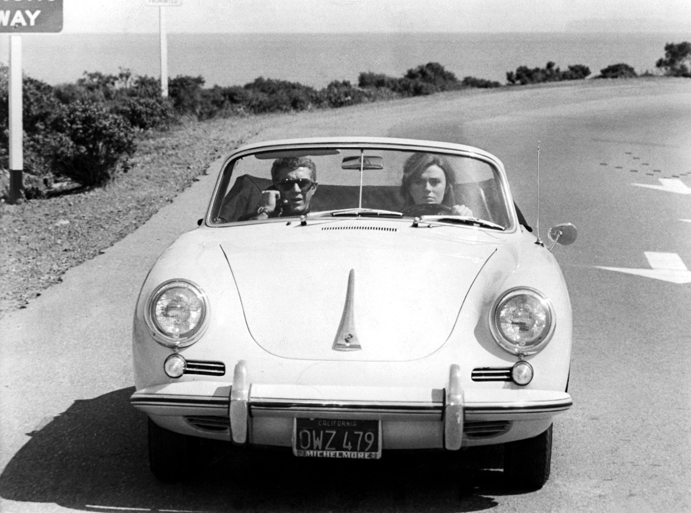 Police Car Chase Wallpaper Steve Mcqueen And The Sexiest Cars And Motorcycles On Film