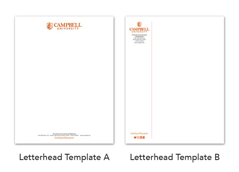 Letterhead Brand Campbell University
