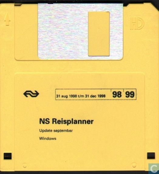NS Reisplanner \u002798/\u002799 Update september - Nederlandse Spoorwegen