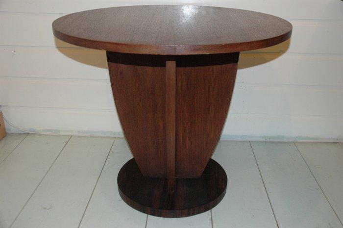 Art Deco coffee table oak and coromandel