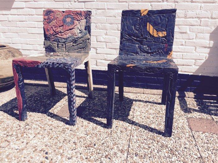 Tobias Juretzek For Casamania Set Of 2 Rememberme Chairs