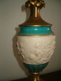 Lamp Wedgewood - keramiek - messing - Catawiki