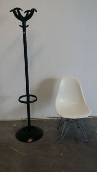 Charles Eames for Vitra  sidechair & Rexite  coat rack ...