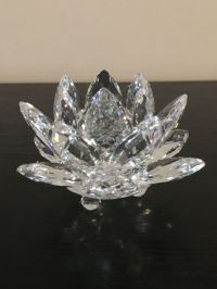 Swarovski - water lily candle holder small - Catawiki