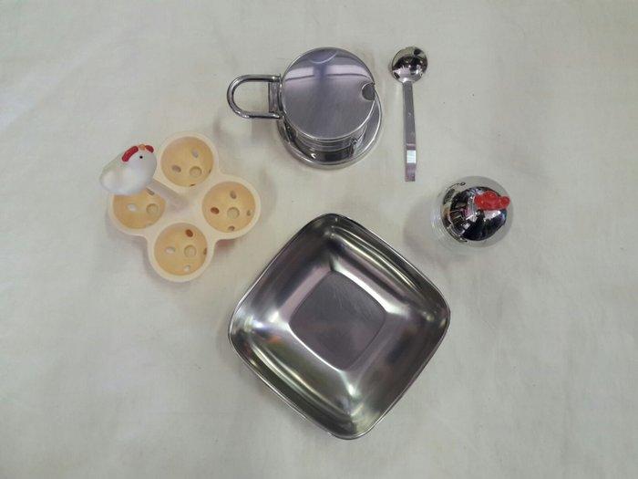 Alessi Spice Rack Boiled Egg Basket Square Bowl