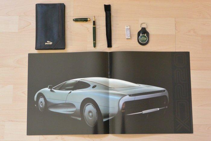 Jaguar Collectors Items Xj220 Brochure 1992 29x29