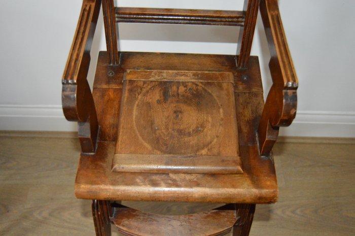 Antique Victorian Metamorphic Childs High Chair England