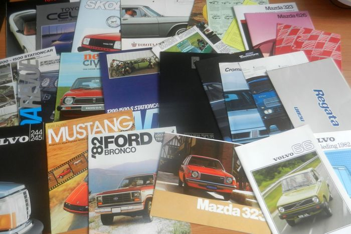 Lot 81 of car brochures from the sixties, seventies and eighties - Catawiki