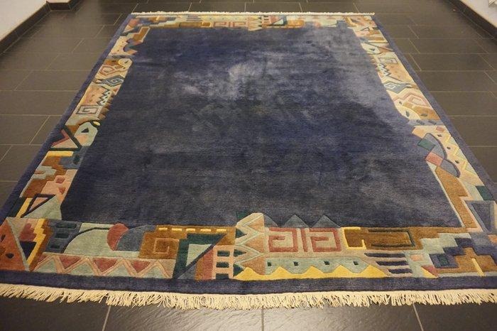 Wunderschoner Moderner Orientteppich Nepal Tibet 260x300cm