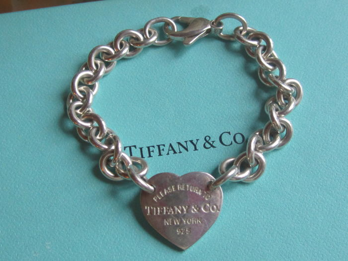 Please Return To Tiffany Co New York 925 Bracelet In 925