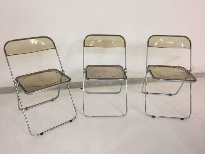 Giancarlo Piretti For Castelli 3 39plia39 Chairs Catawiki